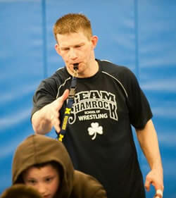 Youth Wrestling Coach Mike Krause