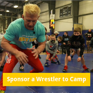 Sponsor a Wrestler to Camp