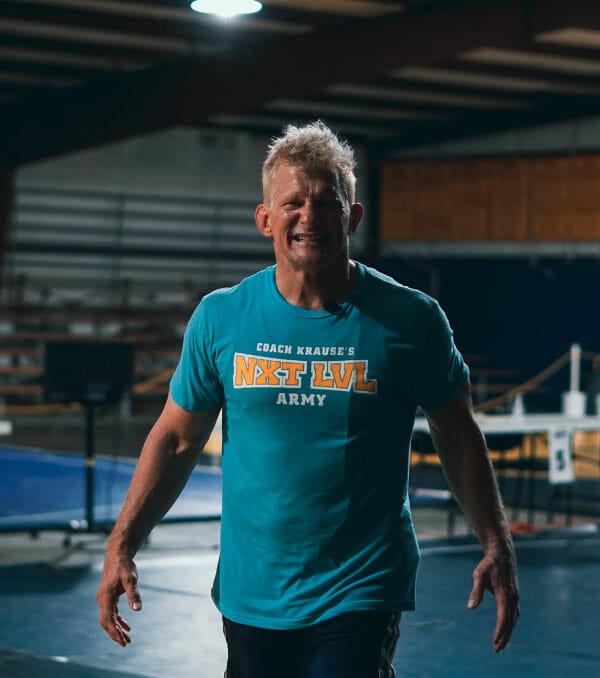 Coach Mike Krause