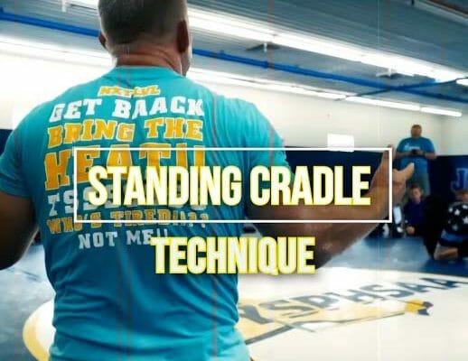 standing cradel technique